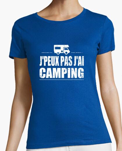 Camiseta jpeux jai no acampar