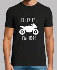 jpeux motorista de la motocicleta no jai