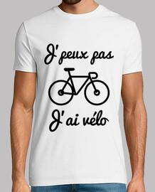 jpeux nicht jai fahrrad - t-shirt radfahren