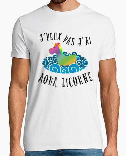 Camiseta jpeux no i aqua unicornio