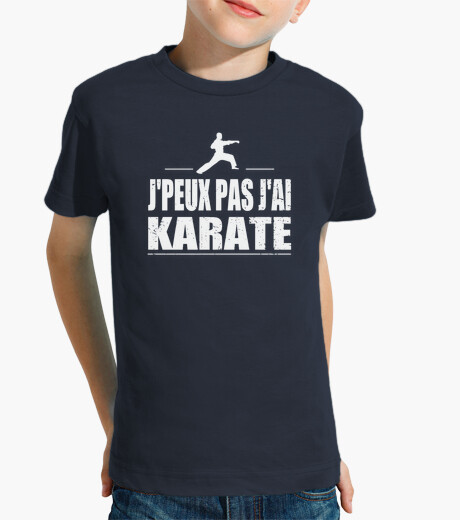 Jpeux not jai karate children's clothes