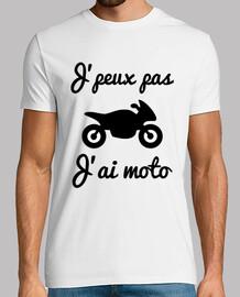 jpeux not jai motorcycle - biker t-shirt