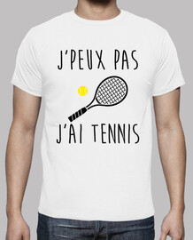 jpeux not jai tennis