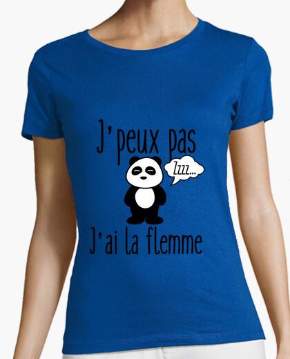 Jpeux not lazy i t-shirt