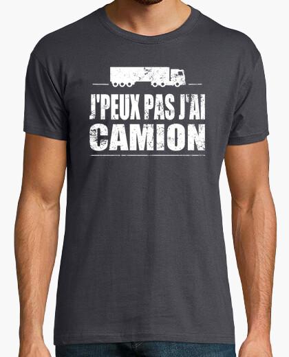 Tee-shirt J'peux pas j'ai camion