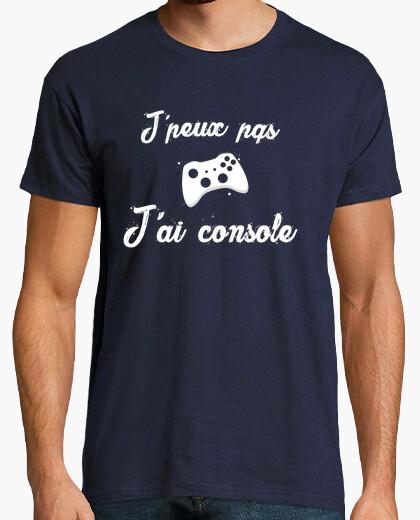 Tee-shirt j'peux pas j'ai console xbox
