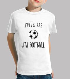 j'peux pas j'ai football