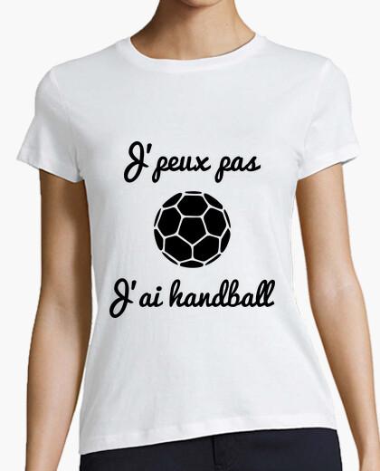 Tee-shirt J'peux pas j'ai handball