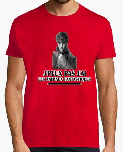 Tee-shirt J'PEUX PAS J'AI LES ANIMAUX FANTASTIQUES