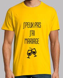J'peux pas J'ai mariage