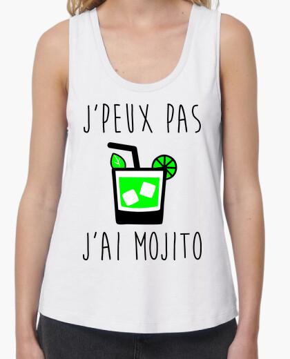 Tee-shirt J'peux pas j'ai mojito humour alcool