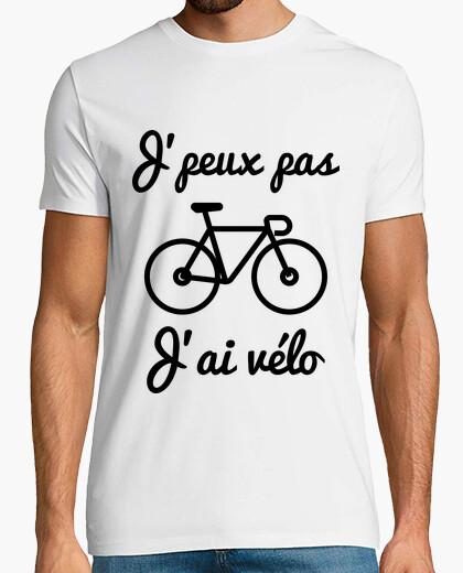 Tee-shirt J'peux pas j'ai vélo - t-shirt Cyclisme