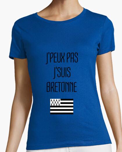 Tee-shirt J'peux pas J'suis Bretonne / Bretagne
