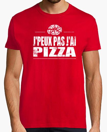 Camiseta jpeux pizza no me