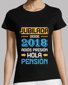 Jubilada Desde 2018, Adiós Presión Hola Pensión
