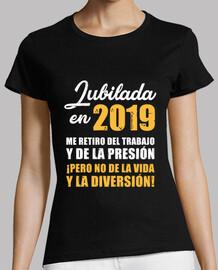 Jubilada en 2019