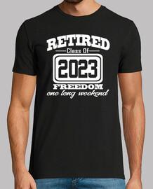 jubilado, clase, 2023, libertad, largo, weeke