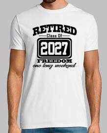 jubilado clase de 2027 libertad largo weeke