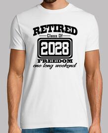 jubilado clase de libertad 2028 largo weeke