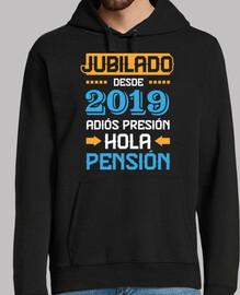 Jubilado Desde 2019, Adiós Presión Hola