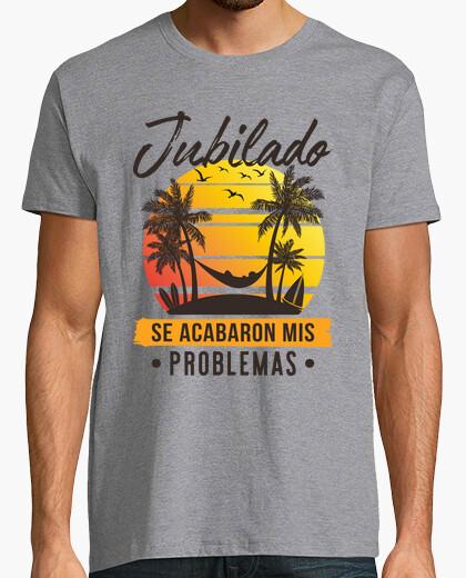 Camiseta Jubilado en la Playa