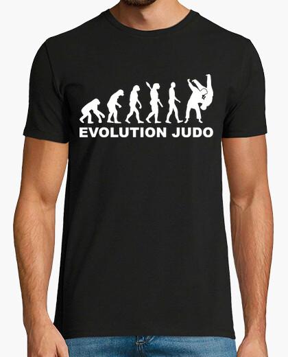 Evolution of man t-shirt EVOLUTION-JUDO t-shirt