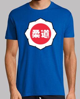 judo logo: bianco / rosso / bianco