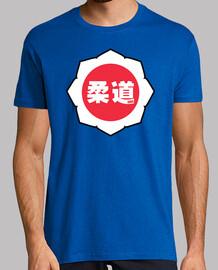 judo logo: blanc / rouge / blanc