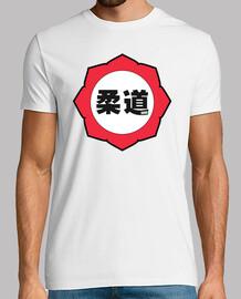 judo logo: red / white / black