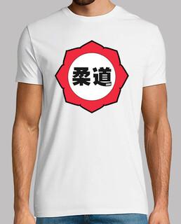 judo logo: rosso / bianco / nero