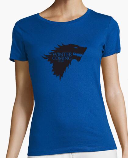 Camiseta Juego de tronos - Casa Stark