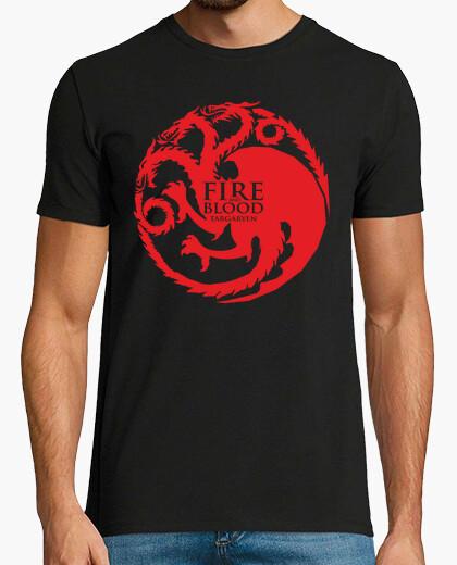 Camiseta Juego de tronos - Casa Targaryen