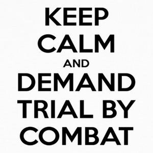 Camisetas Juego de Tronos - Keep calm and Trial by