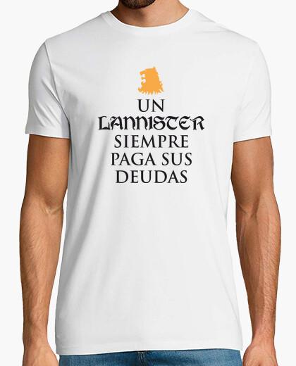 Camiseta Juego de Tronos - Lannister paga deudas