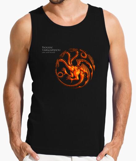Camiseta Juego de Tronos - Targaryen