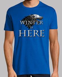 Juego de Tronos 2017 Winter Is Here [Mira nuestro catalogo de camisetas]