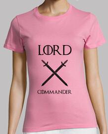 juego de tronos camiseta: señor fin