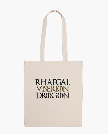 Bolsa Juego de Tronos Game of Thrones Rhaegal