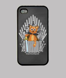 Juego de tronos gato - Funda Iphone 4 / 4S
