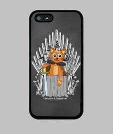 Juego de tronos gato - Funda Iphone 5