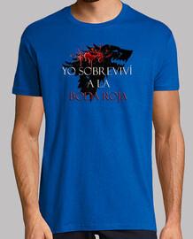 Juego de Tronos STARK Boda Roja [Mira nuestro catalogo de camisetas]