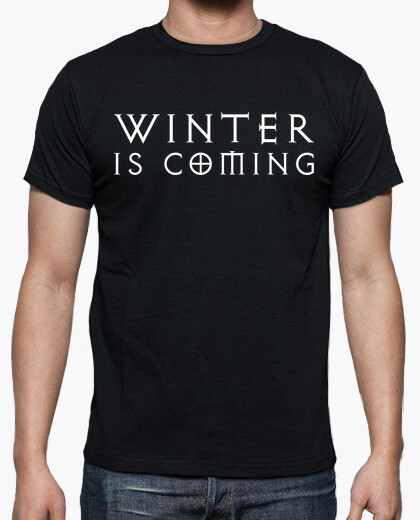 Camiseta Juego de tronos TV winter is coming  Friki Geek TV
