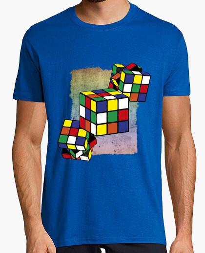 Camiseta Juegos - Cubo Rubik