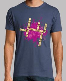 Juegos - Mensaje Scrabble - Make yourself stronger than your excuses