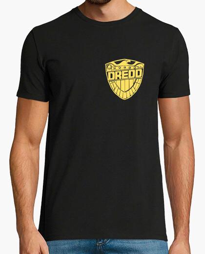 Camiseta Juez Dredd (Placa)