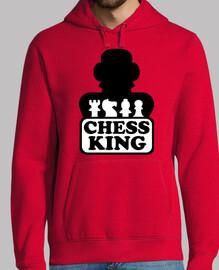 jugador de ajedrez rey