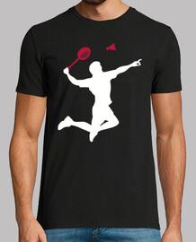 jugador de badminton
