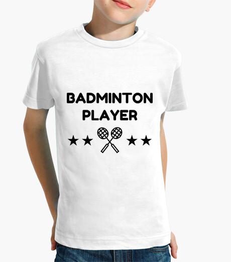 Ropa infantil jugador de bádminton