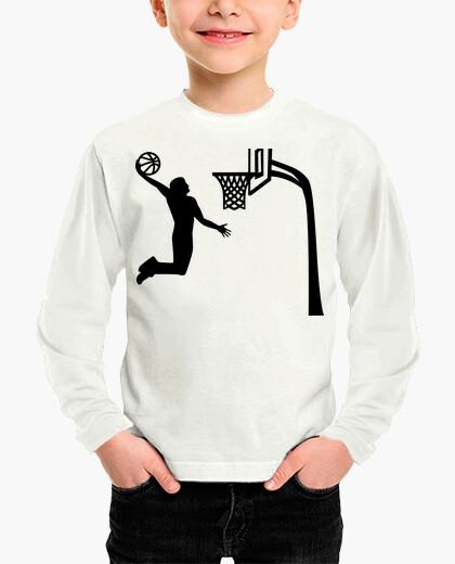 Ropa infantil jugador de baloncesto