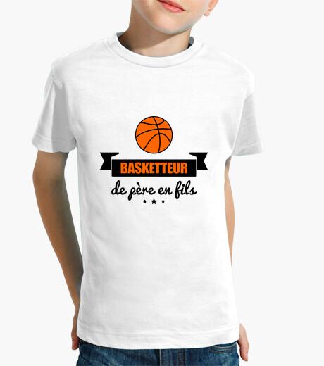 Ropa infantil jugador de baloncesto de padre a hijo